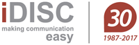 Logo iDISC - Making Communication Easy